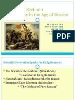 World History - The Age of Reason