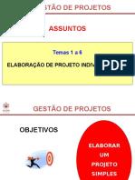 Temas 1 a 6 - Trabalho Individual Prática Com o Ms Project