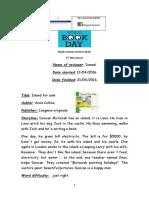 Book Review- Ismael 2ºA