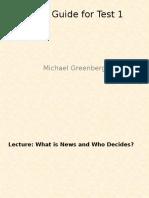 Greenberg Study Guide
