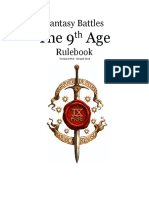 The Ninth Age Rules 0 99 6