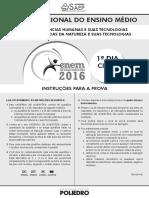 Enem - Ciclo 1 2016