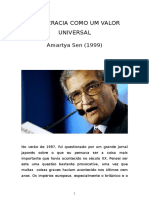 Democracia Como Um Valor Universal by Amarty Asen 1999-131217081732-Phpapp01