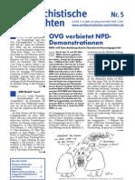 antifaschistische nachrichten 2004 #05