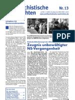 antifaschistische nachrichten 2004 #13