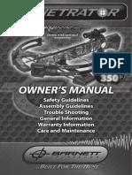 Penetrator Owners Manual