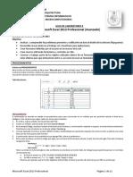 Guia de Laboratorio 09 - MSExcel 2013 - 2015