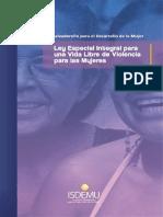 Ley Especial Integral Para Una Vida Libre de Violencia Para Las Mujeres Web