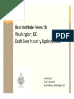 Beer Industry Draft Beer Update - 2012