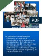SERVICIO COMUNITARIO MPPES