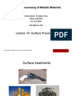 Lecture 16 Machining