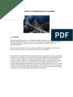 Puente Baluarte, El Atirantado Mas Alto Del Mundo - Mexico