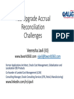 R12 Accrual Reconciliation Upgrade Challenges and Resolutions