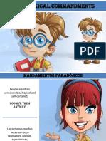 Mandamientos Paradójicos - Paradoxical Commandments