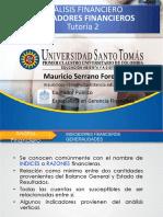 Indicadores Financieros u. Santo Tomas.