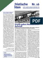 antifaschistische nachrichten 2005 #16