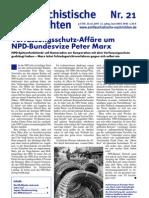 antifaschistische nachrichten 2005 #21