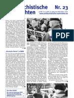 antifaschistische nachrichten 2005 #23