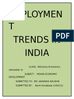 Employment Trends in India - Copy