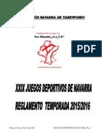 Reglamento JJDD 2016