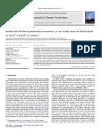 Small-scale Biodiesel Production Economics a Case Study Focus on Crete Island