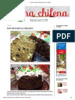 _cocina Chilena_ Pan de Pascua Chileno