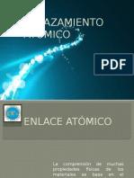 Diapositivas Enlace Atomico