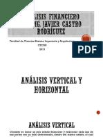 Análisis Vertical y Horizontal