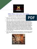 Military History Anniversaries 0501 Thru 051516