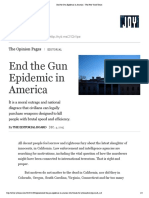 End the Gun Epidemic in America - The New York Times.pdf