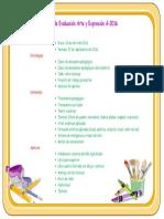 Plan de Evaluación Arte y Expresión A-2016