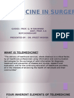 Telemedicine in Surgery -Ppt