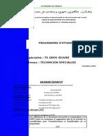 50397908 Programme Etudes BTP TSGO