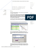 Primavera P6 - Viendo Float Total de Actividades en El Diagrama de Gantt _ Diez Seis Consulting
