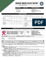 04.30.16 Mariners Minor League Report
