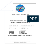 Contoh Instrumen Akreditasi 2014doc