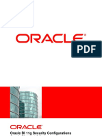 Oracle BI Security Configurations V8.0