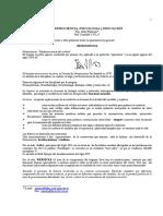 Pastoriza Nelly - Neurociencia Psicologia y Educacion