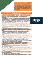 Funciones Del Instituto Geológico Minero y Metalúrgico