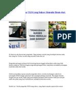 5 Kisah Pengusaha UKM Yang Sukses Memulai Bisnis Dari Nol