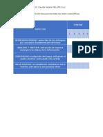 Actividad II - Modulo IV - Instrumento de Evaluacion Para Un Mapa Conceptual