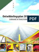 Suriname National Development Plan 2012-2016