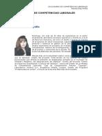 Diccionario de Competencias - Mariela Diaz