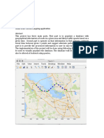 Small scale custom mapping application (using MATLAB)