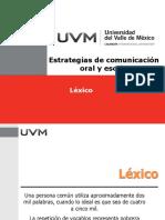 (Presentación) Material de Léxico y Lenguaje
