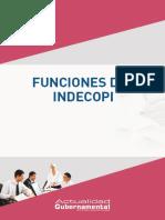 Funciones Del INDECOPI, 2015, IP 90p