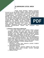 Sistem Jaringan Local Area Network