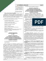 Decreto legislativo 1105