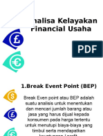 Analisa Kelayakan Financial Usaha
