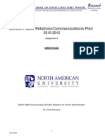 assignment 3 - school public relations communications plan omer dogan